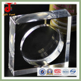 Square shape clear Crystal ashtray business gift