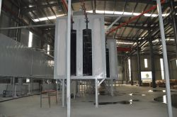 Powder Coating Plant for Elevator