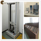 Quality test for WPC decking floor and wall panel