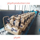 3A30N Oilless Air Compressor Production Line