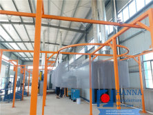 Stainless-steel wire mesh coating