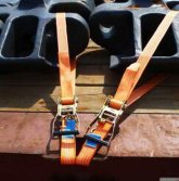 Ratchet lashing belt cargo tie down endless