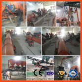 IQ client factory for fertilizer granulator line plant