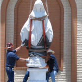 Our Project about Blessed Virgin Mary Sculpture