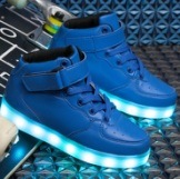 Fashion Kids Boots with LED Lights