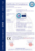 CE Certificate of Electric Pallet Truck