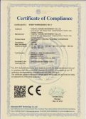 CE Certificate for TBF Solar Freezer