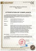CE Certificate of Jet Pump