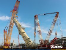 World′s largest crawler crane, XCMG 4000 Ton XGC88000