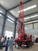 The Indonesia Customers Visited Our Factory to Purchase The Truck Mounted Drilling Machine