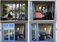 aluminum bifold door for USA