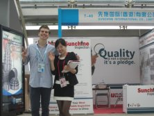 Sales person in Canton Fair