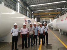 Towngas visit Wuxi Triumph for communication and guidance