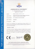 CE certificate for pole mounted auto circuit recloser-RCW38