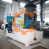 Vertical Biomass pellet mill in TongFu workshop