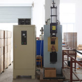 Fan spot welding machine
