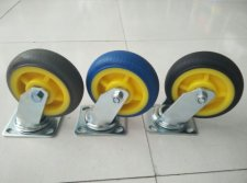 heavy duty TPR caster wheel
