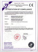 CE Certificate of Tipping Machine