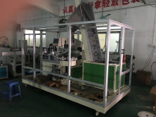 Automatic cap printing machine process