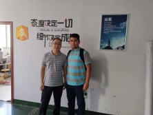 Iran customer come and training