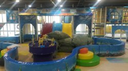 Children indoor playground castle project t in India
