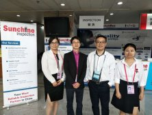 SUNCHINE INSPECTION IN 122nd Canton Fair 19th April 2017