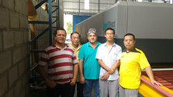 LandGlass Glass Tempering Furnace in Brazil