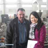German Customer come to visit our factory
