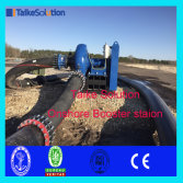 Booster station for land