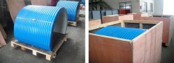 Deliver Conveyor Rainproof Cover to Madagascar