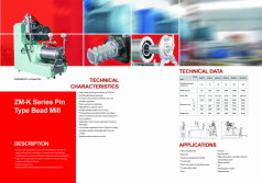 New Pin Type Horizontal Bead Mill Catalogue