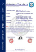 CE Certification for Internal combustion counterbalanced forklift truck model CPQD25