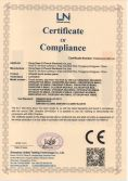 CE Certificate of IR touch screen