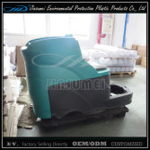 auto sweeper plastic part with rotation molding