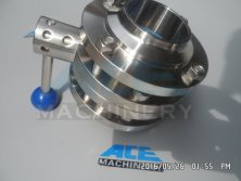 Stainless Steel Manual Welded/Threaded Butterfly Valve