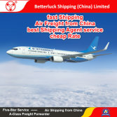 Reliable Air Freight agent from China to North America Logistics services