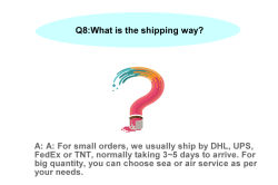 What is the shipping way?