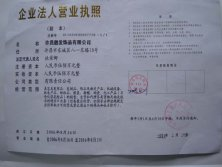 Beautyhair Fashion Registered Certificate