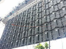 6.6mm outdoor rental panel for car show promotion