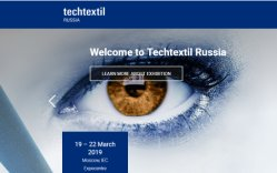 Techtextil Russia Exhibition 2019 in Moscow, Russia