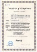 RoHS certificate for Multimedia all in one PC