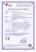 CE Certificate of LED Flexible Strips