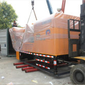 Packing Truck Mounted Concrete Mixer Pump To Indonesia