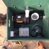 Solar Swimming Pool Pump in Africa for Irrigation