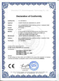 CE certification for solar connector