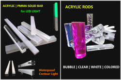 Acrylic Solid Rod for Bar light