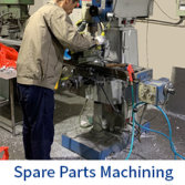 Spare Parts Machining