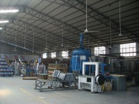pu foam factory diaplay