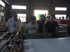 Mexico Customer′s Inspection before Machine Shipping