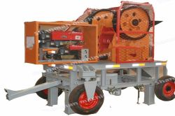 20tph diesel engine power jaw crusher